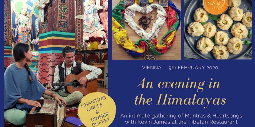 An evening in the Himalaya (Titelbild)