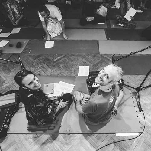 Renee Sunbird & Boris Georgiev beim 2. Vienna Spirit Gathering 2020